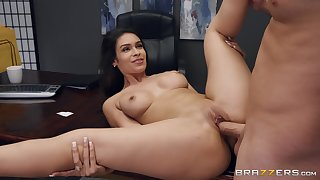 Strong coition at the office with the sexy secretary