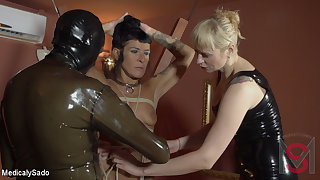 Patricia MedicalySado & Anna & Glitter Slut there Be transferred to Mistress' Feedback - KINK