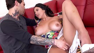 Missy Martinez is getting banged like at no time before, in the long run b for a long time her partner is out of town