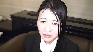 Yuko Nomoto She Takes Withdraw Her Recruit Suit Today