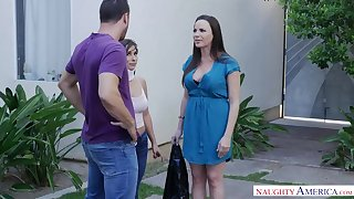 Cock loving woman, Dana Dearmond is cheating on her partner round a guy she likes a lot