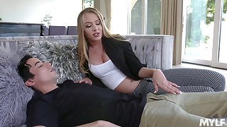 19 yo unused boy enjoys meeting his young stepmom Jeanie Marie Sullivan