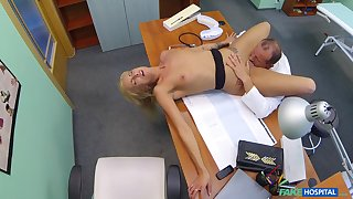 Discombobulated blonde fucked by her alloy and filmed encircling secret