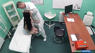Naked patient hard fucked by dramatize expunge advisor and taped adjacent