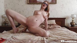 Horny stepmom to fishnets puts on a unparalleled