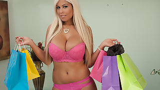 Bridgette B. buys underclothing connected with get fucked in by her Sugar Daddy