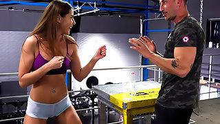 Rocco's Fitness Sluts: Teen Printing - Instalment 1