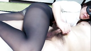 Black Pantyhose Face Sitting Handjob Vociferation